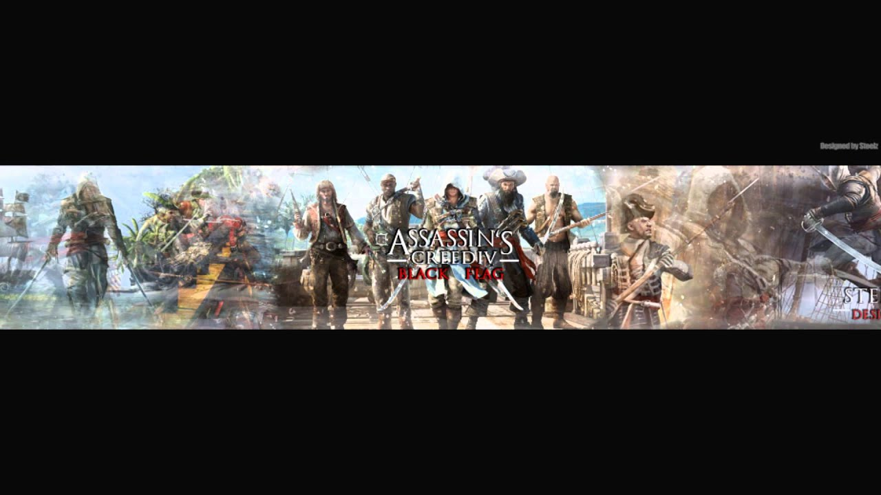 Assassins Creed Iv Black Flag Banner Steelz Youtube