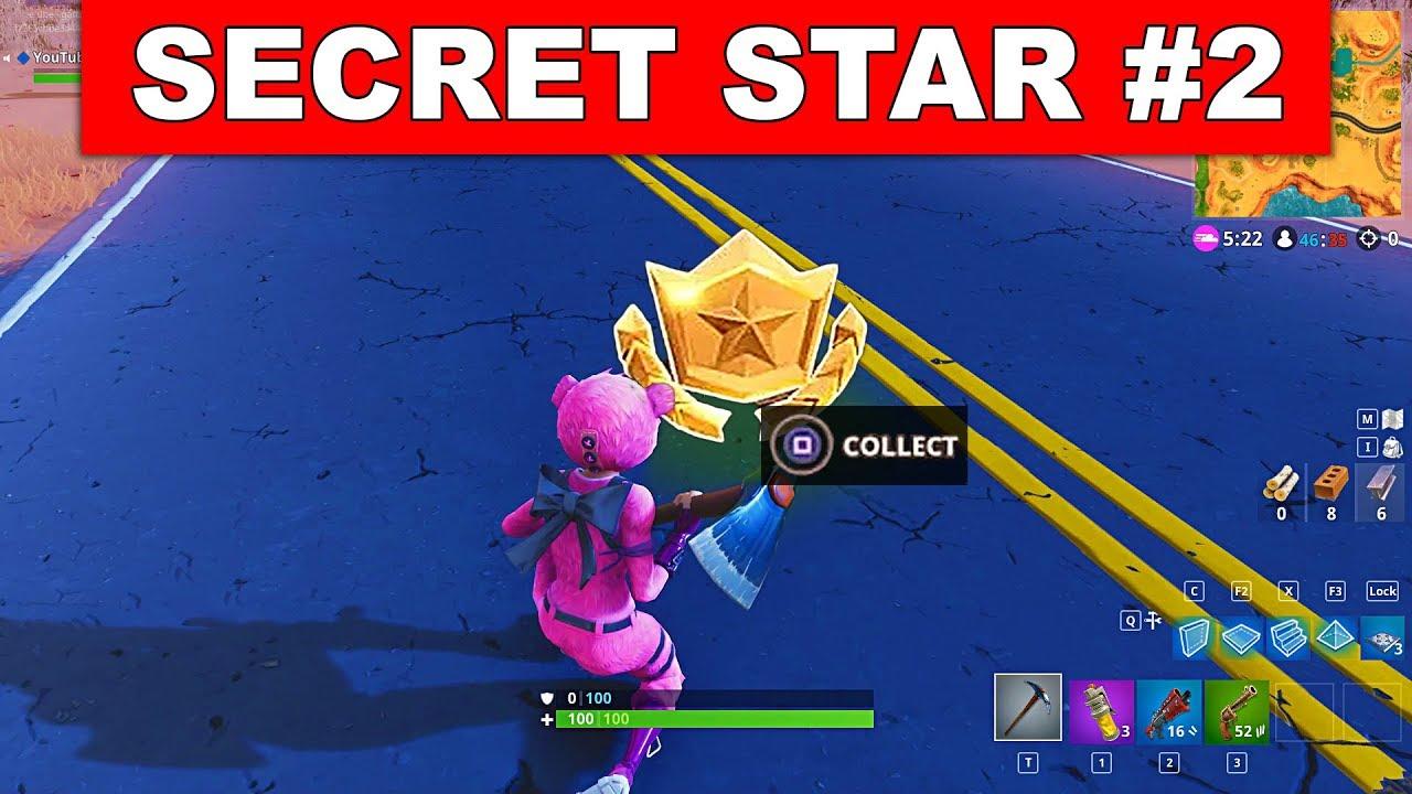 Secret Battle Star Week 2 Season 5 Location Fortnite Battle