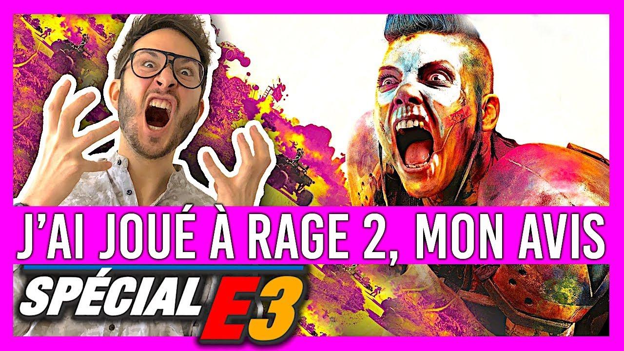 E3 2018 : J'AI JOUÉ À RAGE 2, MON AVIS SURVOLTÉ !