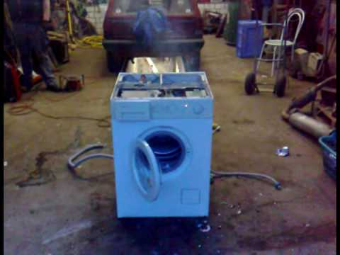 washing machine destruction schleudergang extrem waschm doovi. Black Bedroom Furniture Sets. Home Design Ideas