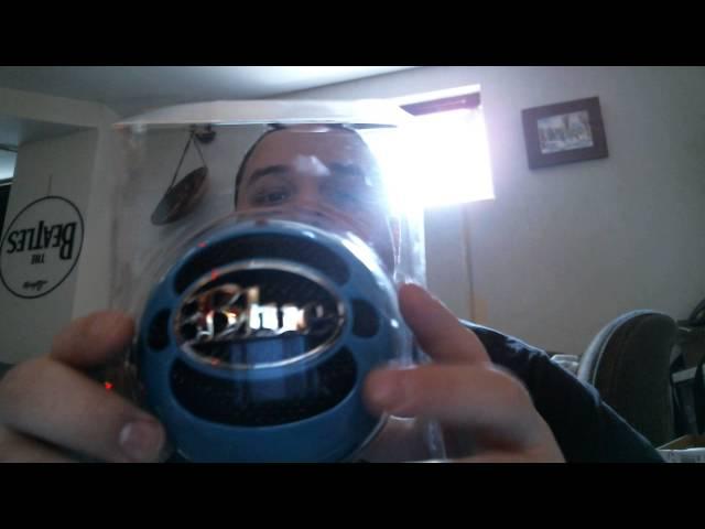 Déballage de mon micro blue snowball.