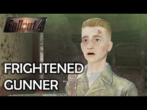 Fallout 4 - Frightened Gunner
