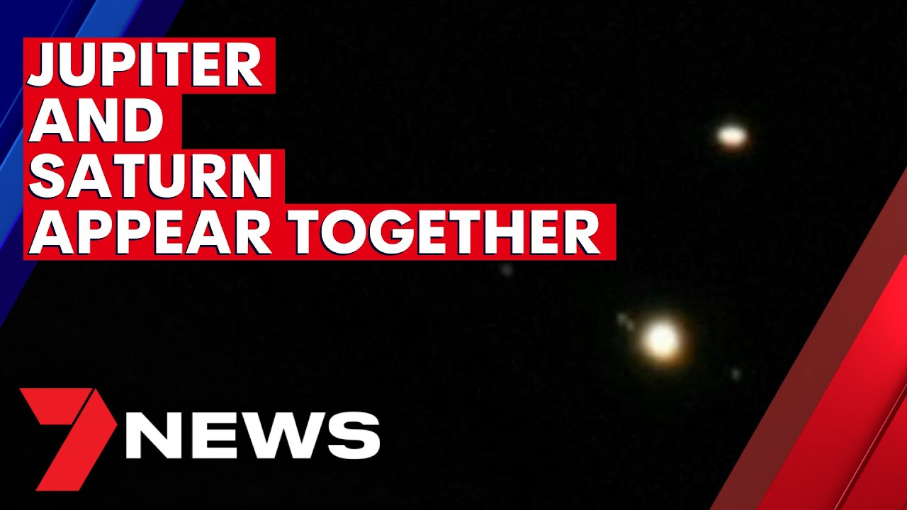Jupiter and Saturn have appeared together for the first time in 800 years | 7NEWS – 7NEWS Australia