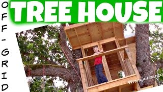 How To Build A Treehouse Ladder | 34