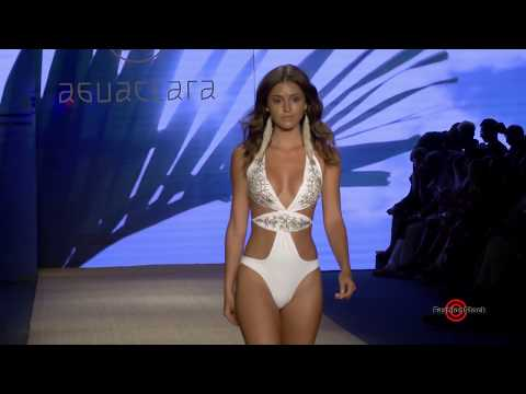 Aguaclara Resort 2019 Collection Runway Show @ Miami Swim PARAISO Fashion Fair
