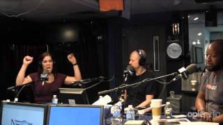 X-Pac confronts Chyna on @OpieRadio and @JimNorton