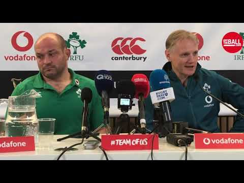 Ireland vs. New Zealand | Joe Schmidt & Rory Best post-match press conference
