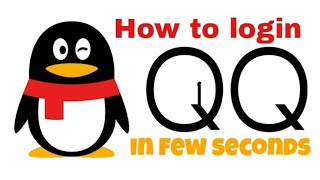 Gambar cover How to login in QQ APK with easy steps ( sign up problem ) || check description || by #ligxt ||