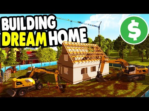 Download Youtube: BUILDING my DREAM HOME with BIG CREW | Construction Simulator 2015 Gameplay