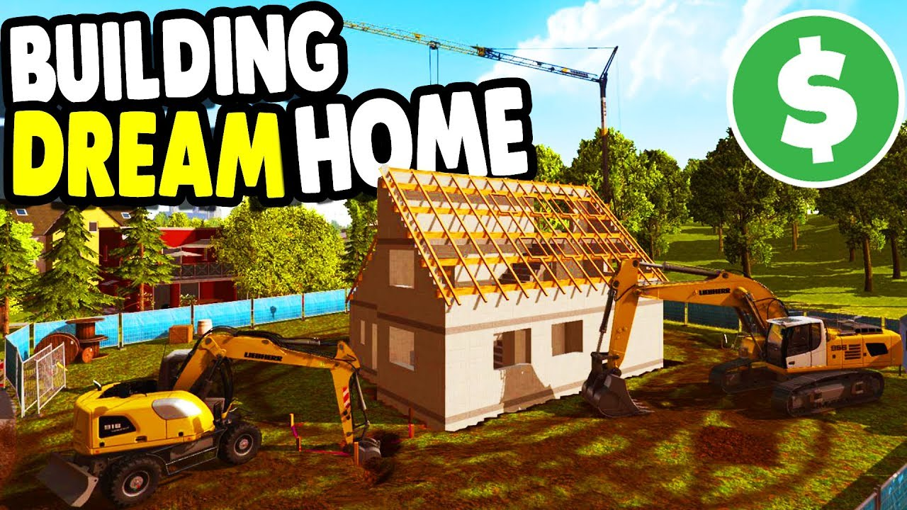 Nice BUILDING My DREAM HOME With BIG CREW | Construction Simulator 2015 Gameplay