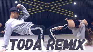 Download lagu TODA REMIX - Alex Rose ft Cazzu | Coreografía Pecas Conte