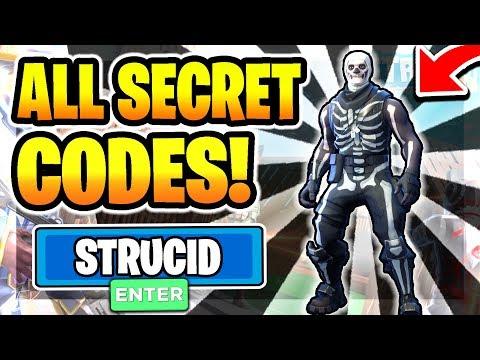 *ALL* SECRET OP WORKING STRUCID CODES! 🔥BOX FIGHT🔥 | (2020) Roblox Strucid