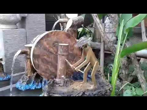water fountain the farmer of pvc