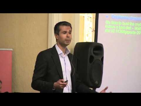 Dr Aseem Malhotra: 'Sugar is public enemy number one' at the Cape Times Sugar Free Breakfast
