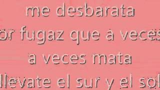 Restos de abril-Camila(letra)