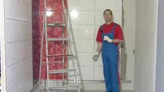 Укладка плитки Затирка швов с IVSIL(Технология укладки облицовочной керамической плитки и керамогранита на видео. Сухие строительные смеси...., 2009-12-01T08:22:38.000Z)