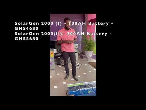 SolarGen 2000 - Deep Solar Ghana | Made in Ghana - 3 Mar 2021