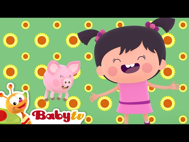 Old McDonald 👨🌾🐄🐴 (Remastered with Lyrics) | Nursery Rhymes & Songs for Kids | BabyTV
