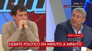 Debate político: Tolosa Paz, Santoro, D´Onofrio, Olmedo y Pitrola