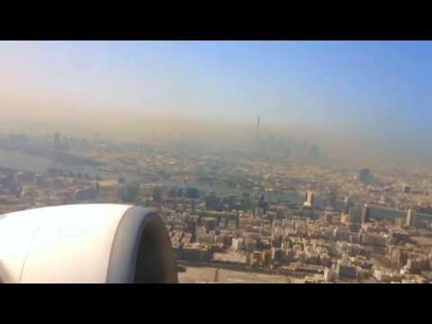Take Off Dubai -  Seattle Emirates Time-lapse