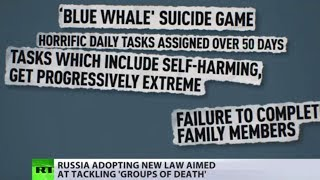 Suicide game: Russia adopting law to combat global 'Blue Whale' scare