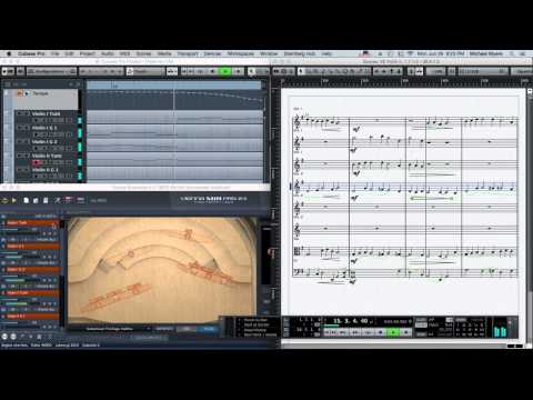 VSL, DAW and Notation - Cubase Experiment
