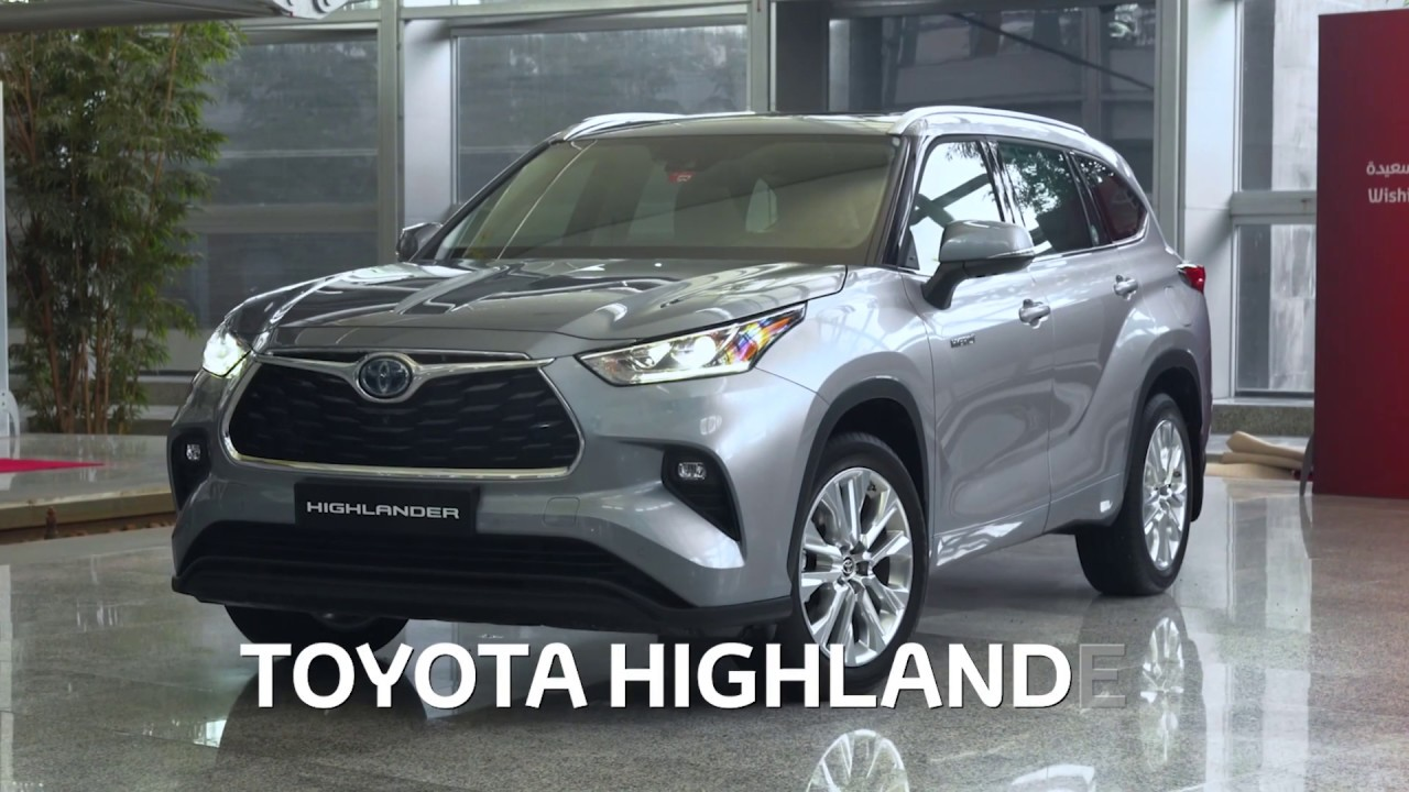 The All New Toyota Highlander Hybrid Walk Around