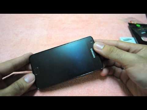 แกะกล่อง รีวิวภายนอกเครื่อง Samsung Galaxy S2
