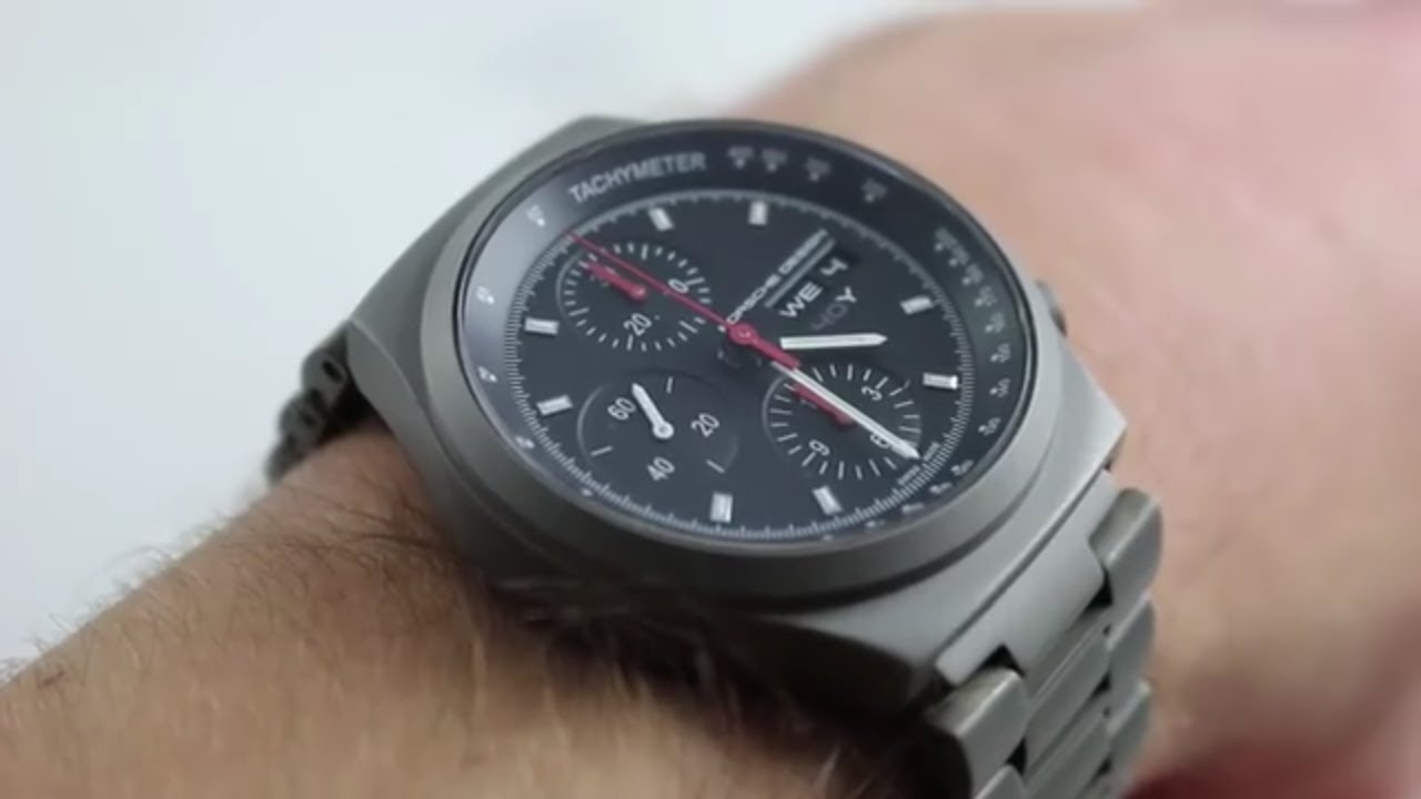 Porsche Design Küchenwaage Porsche Design P'6540 Heritage Chronograph Luxury Watch