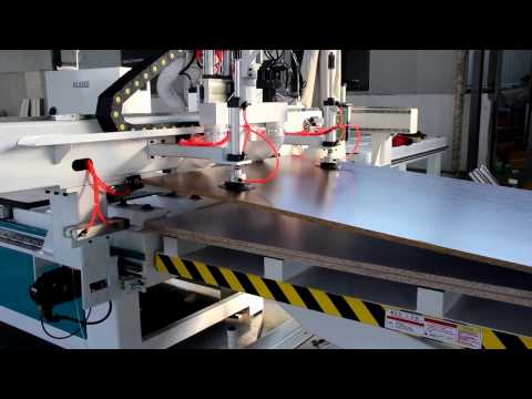 BEASEE: high quality atc cnc router with boring and drilling unit