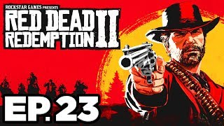 Red Dead Redemption 2 Ep.23 - TRYING OUT THE VARMINT RIFLE, HUNTING RIFLE!!! (Gameplay / Let's Play)