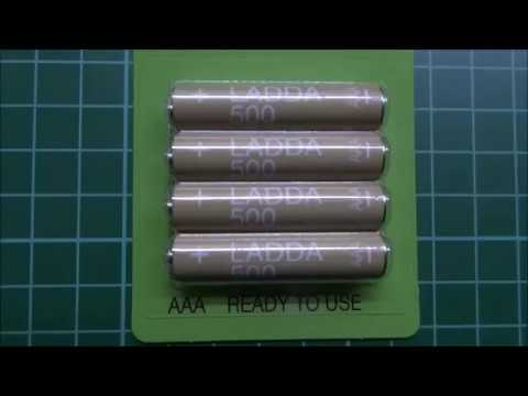 cheap-rechargeable-rtu/lsd-nimh-aaa-ikea-ladda-500mah---unboxing-and-testing
