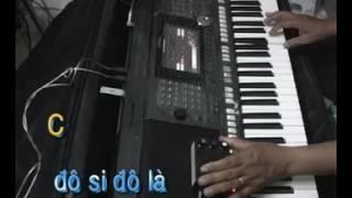 Đệm Hát Bài Bong Hồng Cài Áo Organ