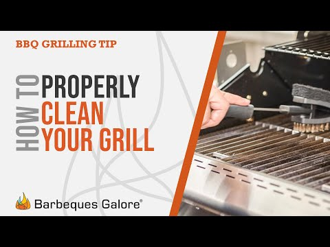 BBQ Galore Grillin Tip - How to properly clean your grill