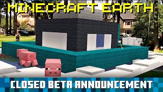 Minecraft Earth: Closed Beta Announcement