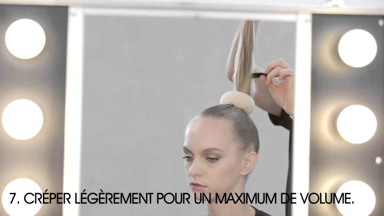 TUTORIEL ELITE Le chignon - YouTube