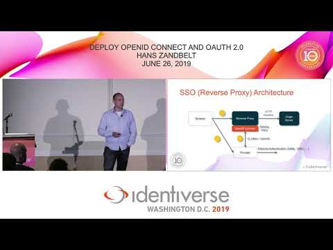 Deploy OpenID Connect And OAuth 2.0 With A Reverse Proxy Architecture - June 26 | Identiverse 2019