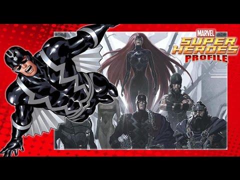 [SHP] 22 ประวัติ Black Bolt ฮีโร่ผู้เงียบงัน ราชันย์ Inhumans
