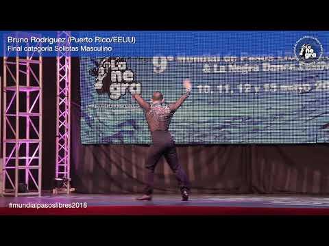 1er Puesto Final Solista Masculino - Bruno Rodriguez - 9º Mundial de Pasos Libres 2018
