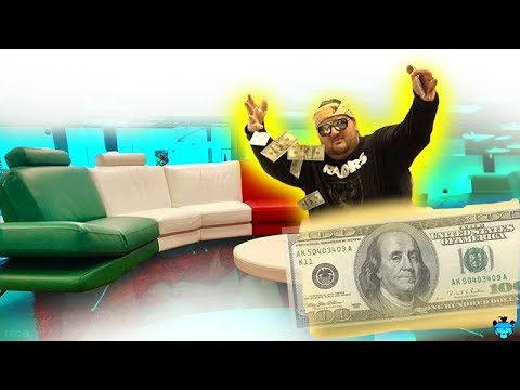 $20,000 GUCCI COUCH!