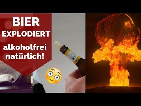 BIER EXPLODIERT!! - Warum du NIEMALS BIER INS EISFACH TUN SOLLTEST