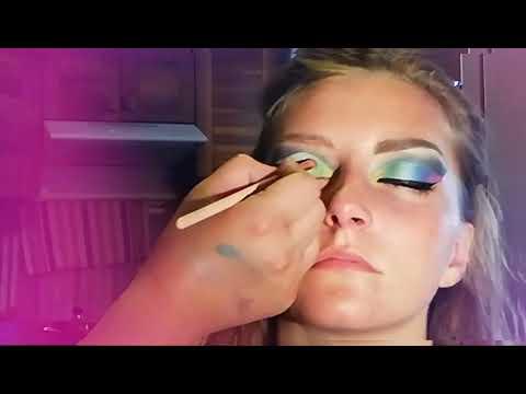 Il mio primo Rainbow 🌈makeup per nyx cosmetics