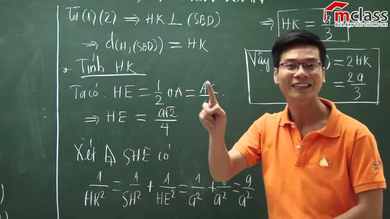 Hướng dẫn giải chi tiết đề thi đại học môn Toán khối A năm 2014