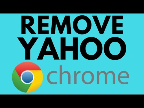 How To Fix Google Chrome Search Engine Changing To Yahoo - Remove Yahoo Search