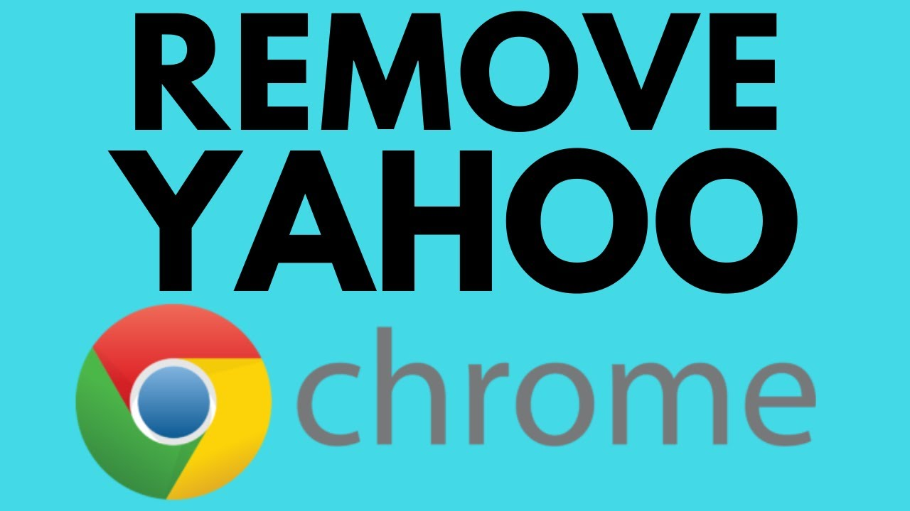 How To Fix Google Chrome Search Engine Changing To Yahoo Remove Yahoo Search Youtube