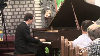 2012 Central Pennsylvania Ragtime Festival - Bryan Wright plays Roberto Clemente