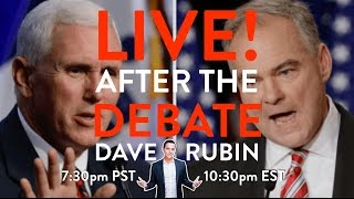 Live with Dave After the Vice-Presidential Debate