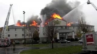 Holiday Inn Express fire