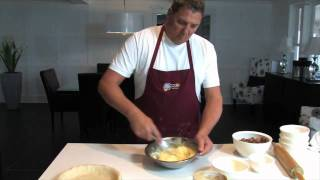 How To Make Gluten Free Rhubarb Pie By Oma's Bakeshop