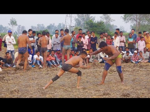 Mohammed Ali Lapra Vs Ambala Pehlwan Kushti Dangal Mandauli Yamuna Nagar